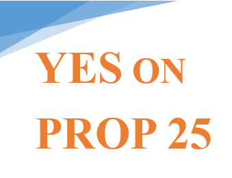 Vote Yes on Proposition 25 to Interrupt the Poverty to Prison Pipeline and Significantly Reduce Pre-Trial Detention